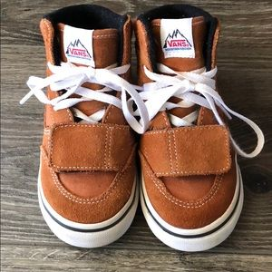 71233769a2 Vans Shoes - Toddler Vans Mountain Edition in Glazed Ginger
